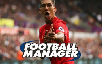 Brazilian superstar Firmino was actually discovered on Football Manager by a scout