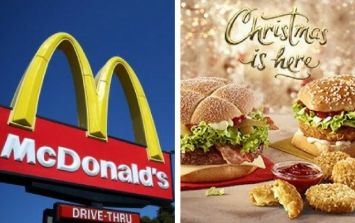 This is what's on the new McDonald's Christmas menu