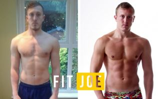 Yorkshire biathlete put on some serious muscle changing his diet on the Titan Force project
