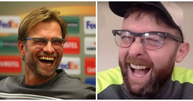 WATCH: Probably the greatest Jurgen Klopp impression of all time
