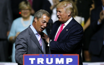 Donald Trump puts Theresa May in an awkward spot with his latest Nigel Farage tweet