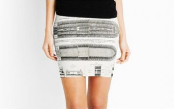 Incredibly offensive skirt removed from sale after online complaints