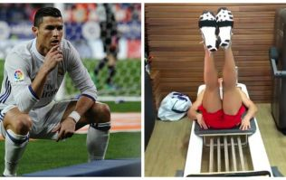 This weird leg exercise might be why Cristiano Ronaldo looks the way he does