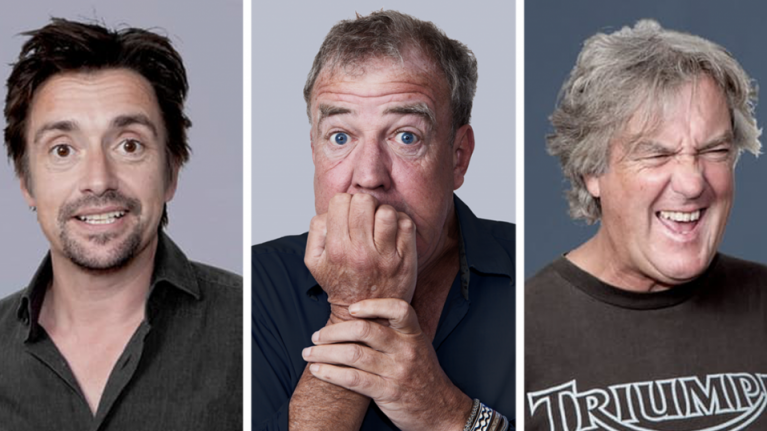 """Clarkson, Hammond and May: """"There's camaraderie, but it's creatively fuelled by loathing"""""""