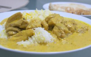 Chicken Korma leads the way in ranking of Britain's favourite curries