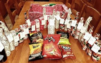 This girl got her dad a 'Beervent Calendar' for Christmas