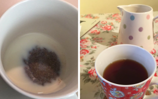 Does the milk go in first or last in a cup of tea?