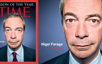 Nigel Farage on course to be named Time's Person of the Year 2016