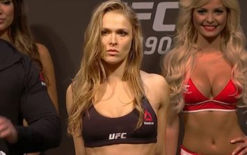 Ronda Rousey's a little leaner than usual heading into UFC return