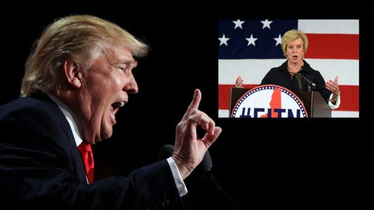 Donald Trump chooses WWE magnate Linda McMahon for key role