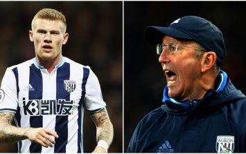 Tony Pulis' view of James McClean is what every player wants to hear from their manager