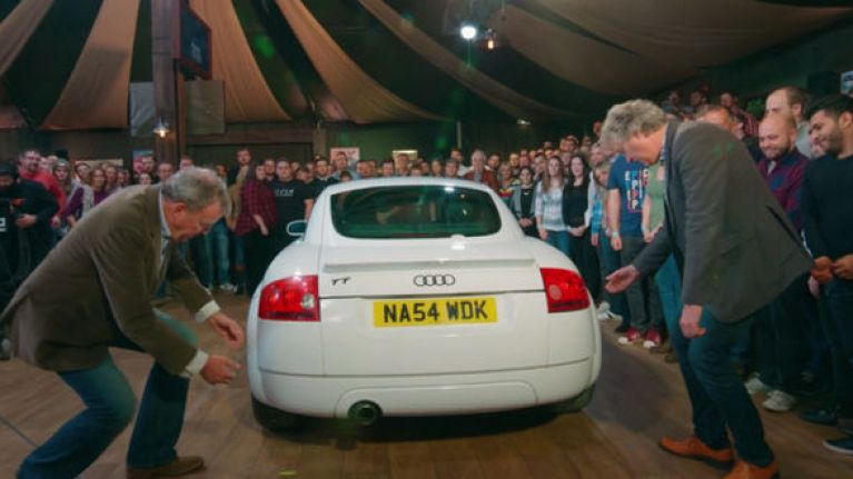 "PICS: Jeremy Clarkson and The Grand Tour criticised for controversial ""immigrant"" scene"