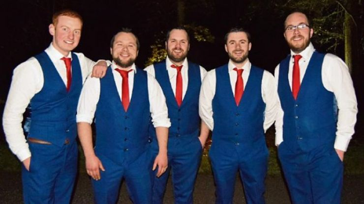 This Irish band saved the life of a bride's uncle during her wedding reception