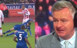 Watch Charlie Nicholas' laughable explanation as to why Jamie Vardy shouldn't have seen red