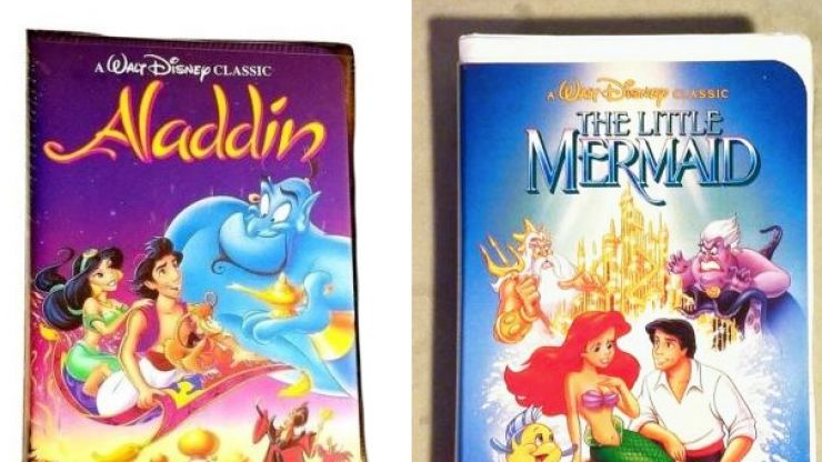If you own any of these old Disney VHS tapes, they could be worth a fortune