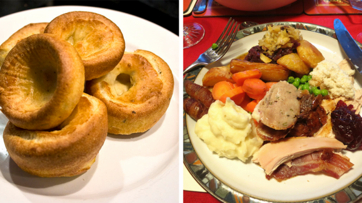 Do Yorkshire puddings belong in a Christmas dinner?