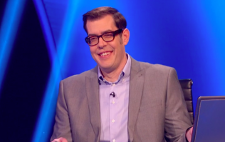 We now know what Pointless co-host Richard Osman's laptop is for
