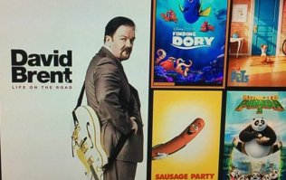 Modest Ricky Gervais tells the world he's not as well endowed as this pic would have you believe
