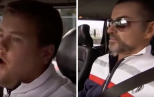 George Michael was the first ever guest on James Corden's Carpool Karaoke