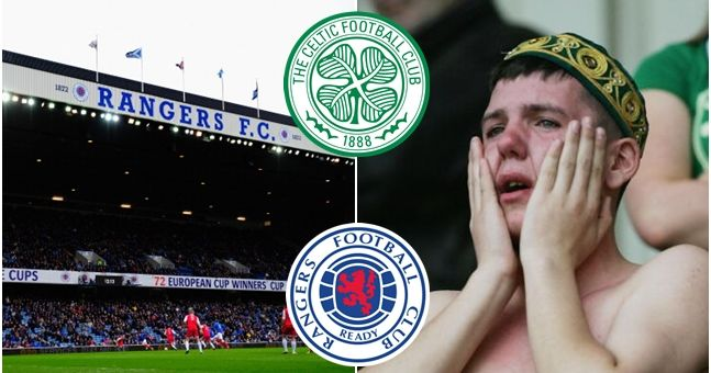Scottish police have stopped Celtic fans' attempt to troll Rangers at Ibrox