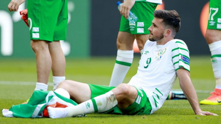 Shane Long's wonderful gesture to young fan after Euro 2016 defeat has only just been revealed