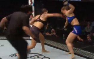 Watch amazing Amanda Nunes annihilate Ronda Rousey in 48 seconds