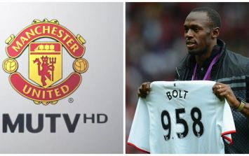 Usain Bolt was so excited by Man United's comeback win he phoned MUTV live on air