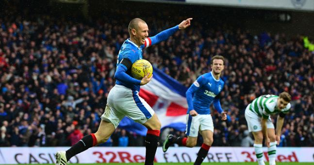 There's a predictable response to Kenny Miller's Old Firm goal