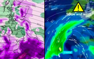 IT'S UPON US: Worst snow storm in 50 years is about to hit UK