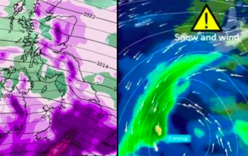 RED ALERT: The Beast from the East is about to smash into Storm Emma with disastrous consequences