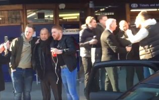 England coach Eddie Jones abused by Scottish fans moments after posing for selfies