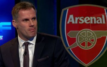 Jamie Carragher has some advice for Arsenal Football Club