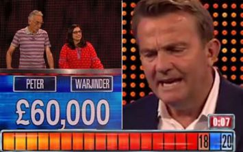 Viewers are absolutely convinced The Chase was rigged to avoid paying out a £60,000 jackpot