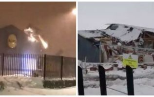 VIDEO: Extraordinary footage of the demolished Lidl in Ireland following Friday night's looting