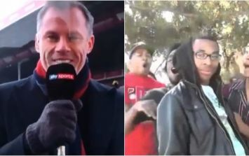 Jamie Carragher checks into the doghouse with joke on Soccer AM