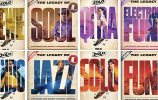Disney's new Star Wars Solo posters bear a striking resemblance to these album covers from 2015