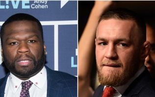 "Conor McGregor calls out ""50-year-old Instagram blocker"" 50 cent"