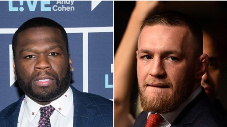 """Conor McGregor calls out """"50-year-old Instagram blocker"""" 50 cent"""