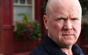 A snow imprint of Phil Mitchell's face is 2018's finest moment so far