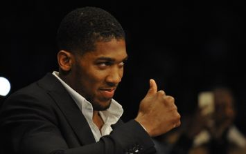 Anthony Joshua has enlisted the help of a very familiar face for sparring