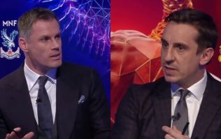 Jamie Carragher and Gary Neville disagree about who should be England's goalkeeper for the World Cup