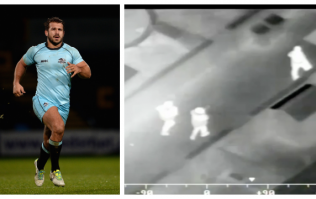 Rugby star in 100mph police chase tasered five times before stealing taser and turning it on police