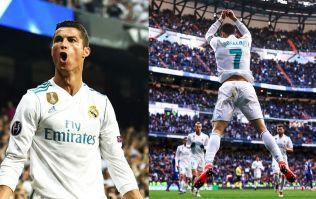 What does Cristiano Ronaldo's goal celebration mean?