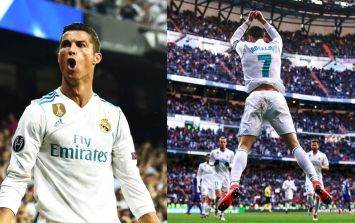 What does Cristiano Ronaldo's goal celebration mean?