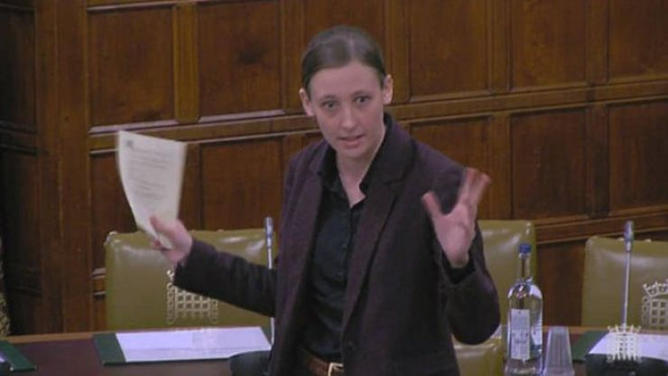 Mhairi Black has become the first MP to say c*** in Parliament