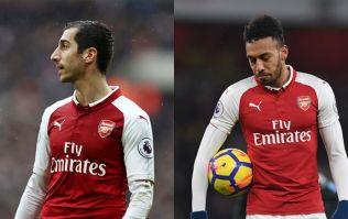 Some Arsenal players aren't happy with Henrikh Mkhitaryan and Pierre-Emerick Aubameyang