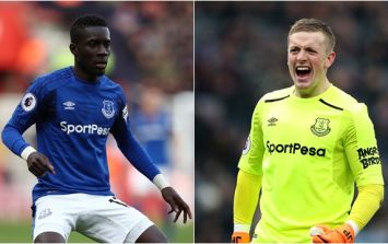 Rumours of bad blood between Pickford and Gueye addressed by Sam Allardyce