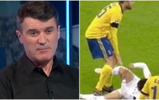 Roy Keane's reaction to Barzagli's stamp was classic Roy Keane
