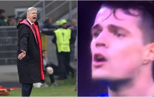 Amateur lipreaders work out what Granit Xhaka shouted at a furious Arsene Wenger