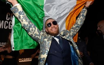 Conor McGregor shares bizarre 'Get your tits out for the lads' International Women's Day message